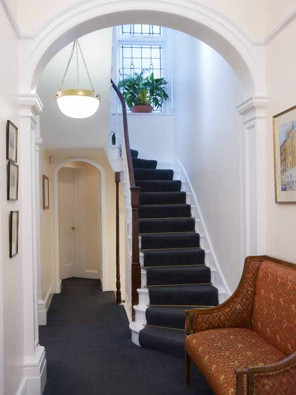 Lewis Golden hallway